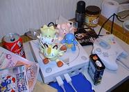 Cool figures on a not so cool Dreamcast (well, it was in those days...).