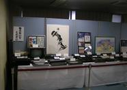 An overview of the MSX advertisments and computers on display