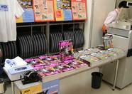 At the entrance, MSX Magazines were sold as well