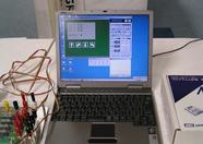 MSXPLAYer running MSX-BASIC for Robo-Education and one of the demonstration programs
