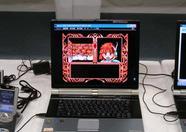 Mado Monogatari 1-2-3 running on MSXLPAYer