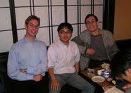 Sander, Mr. Ikeda and Bernard