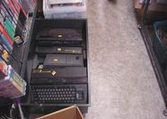 MSX1 and MSX2 computers , lot's of them.