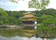 Kinkakuji Temple (Golden Temple) in Kyoto