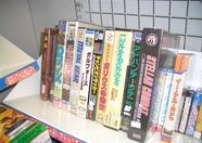 This is all of the MSX software I could find in Osaka. This small collection can be found in a Sofmap store in Den Den Town.
