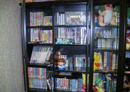 These closets contain almost every Compile production ever appeared, including MSX software and merchandizing. Taken at the Aiky office in Tokorozawa.