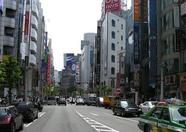 Cabs are everywhere in Tokyo. Morning, day, night...