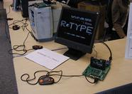 R-Type running no a One Chip MSX