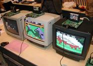 3 One Chip MSXes doing their thing