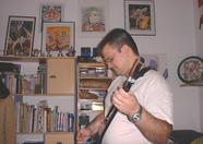 Marcelino playing guitar again