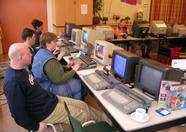 Many MSX computers in action.
