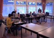 What would an MSX meeting be without MSX computers in action?