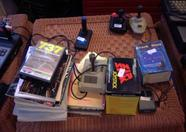 MSX compatible joysticks, books and a 737 simulator are to be auctioned as well