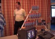 Deltasoft presenting Konami Quiz 2 and a darts game in developement