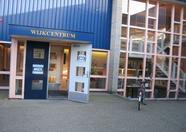 The entrance of Wijkcentrum Hatert.