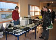 Mr. Kalkwiek also had quite a collection of various MSX machines for sale.