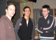 Jorrith, Jésus and Arjan (the three amigos?)