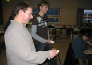 David and John also Wiiing.