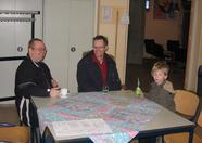 Former MSX NBNO members Richard Bosch and Raymond Hoogerdijk (with son) visited the fair as well