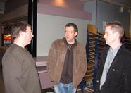 Compjoetania reunion part 1: David Heremans, Bart Roijmans, Dave Groenen