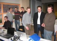 Compjoetania reunion part 2, now also with Eric van Beurden (2nd from the right)