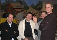 Eric van Beurden, Mike Dammer, Dave Groenen and a guy whose name we did not catch