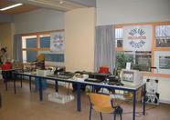 Full view of Bonami Computer Museum booth.