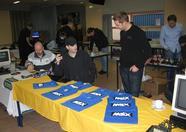 MRC selling t-shirts