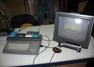 Bitwise demonstrating cartridge games