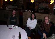 Tristan (Funet administrator), Iris and MRC guru Sander van Nunen.