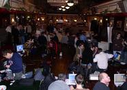An overview of the location where Oss is held. Nice and cozy, nice and crowdy!