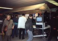 At the fair, the booth of MSX Futurist just build up. The first people are coming in. Exciting!