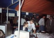 Rob, chairman of MSX Futurist, talking to  another MSX user.