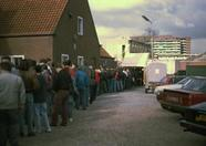 All those people waiting to get in to the biggest MSX event of the year