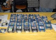 Disks at the MSX-Club NBNO stand