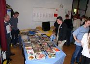 The MSX Resource Center Foundation booth. Lots of original Japanese software...