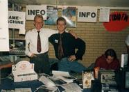 MSX Engine: Sander van Nunen (msx.org founder) and Loek van Kooten