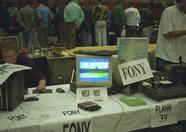 And from a visitors point of view: the Fony booth