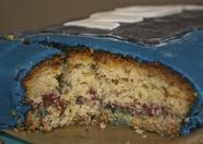 The inside of the MSX cake