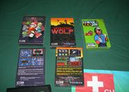 Games for sale at the Sunrise booth