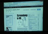 MCM Online sample page