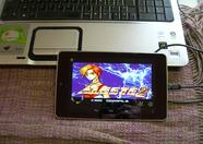openMSX for Android running on a Nexus 7 tablet