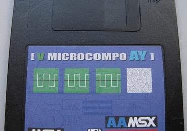 AAMSX-CulturaChip AY compo music disk published