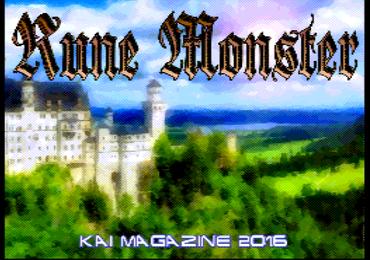 Rune Monster, nuevo juego de Kai Magazine