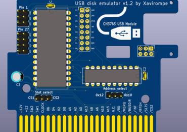 Rookie Drive - virtual USB drive for MSX