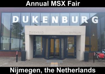 MSX Nijmegen 2017 - reminder