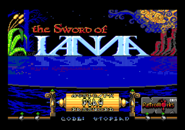 The Sword of IANNA by Retroworks in development