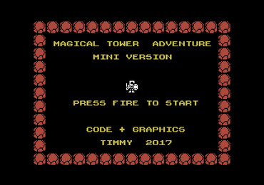 MSXdev'17 #9 - Magical Tower Adventure