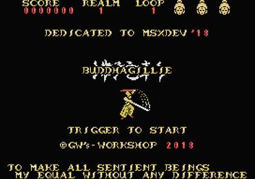 MSXdev'18 #2 - Buddhagillie