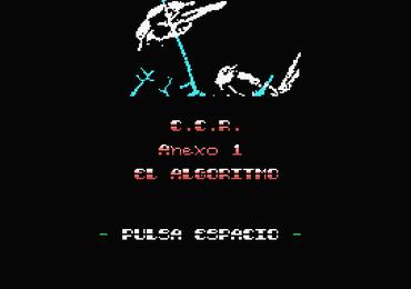 MSXdev'18 #4 - C.C.R. Anexo 1 El Algoritmo